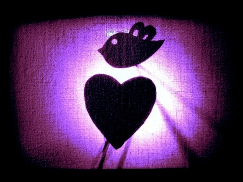 Chookas Theatre - Shadow Puppets - Cardboard, wood