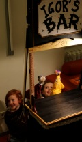 In the puppet theatre