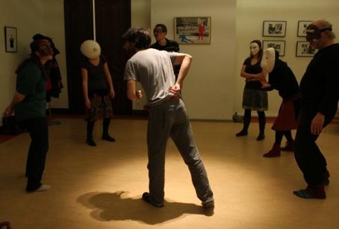 Masked theatre workshop