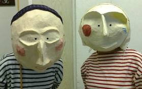 Beautiful finished masks