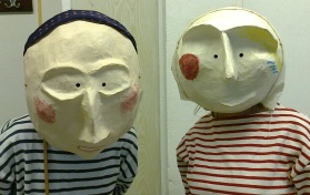 Beautiful finished masks