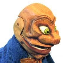 Igor - Glove and hand puppet - Wood