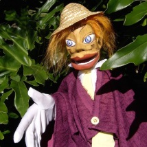 Clementine - Hand and Glove puppet - Wood