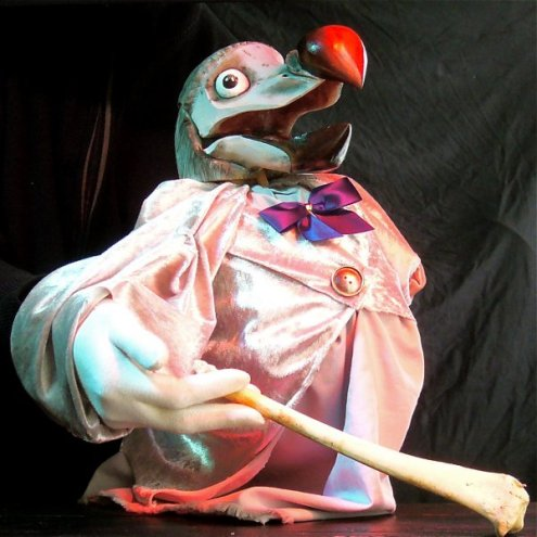 The Dodo - Hand and Glove puppet - Wood