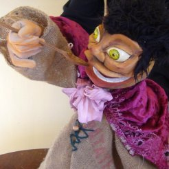 Isidor - Hand and Glove puppet - Wood