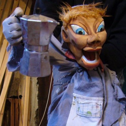 The Arborist - Hand and Glove puppet - Wood