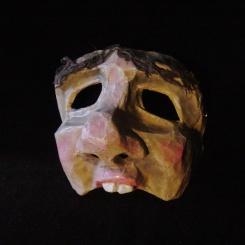 Half mask - Paper mâché