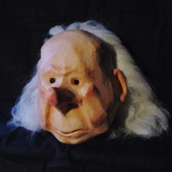 Vieillard (old man) - Paper mâché