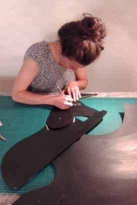 Cutting out a donkey